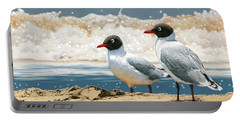 Surf 'n' Turf - Franklin's Gulls Portable Battery Charger