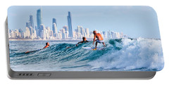 Surfing Burleigh Portable Battery Charger