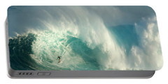Surfing Jaws 3 Portable Battery Charger by Bob Christopher
