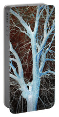Surreal Blue Tree Portable Battery Charger