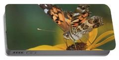 Susan Painted Lady Portable Battery Charger