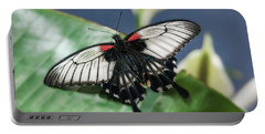 Portable Battery Charger featuring the digital art Swallowtail Butterfly by Mae Wertz