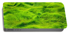 Swamp Grass Abstract Portable Battery Charger