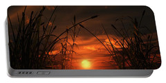 Swamp Sunset  Portable Battery Charger