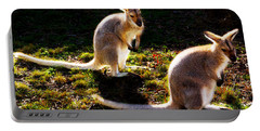 Red-necked Wallabies Portable Battery Charger
