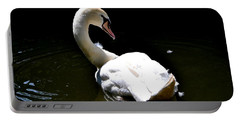 Portable Battery Charger featuring the photograph Swan Lake by Deena Stoddard