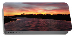 Swan River Sunset Portable Battery Charger