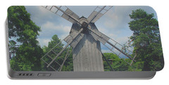 Portable Battery Charger featuring the photograph Swedish Old Mill by Sergey Lukashin