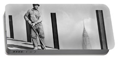 Sweeping The Empire State Bldg Portable Battery Charger