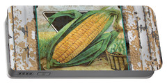 Sweet Corn On Vintage Tin Portable Battery Charger