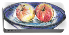 Sweet Crunchy Apples Portable Battery Charger