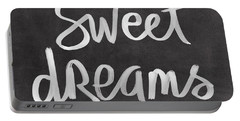 Sweet Dreams Portable Battery Charger by Linda Woods