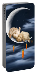 Sweet Dreams Portable Battery Charger by Veronica Minozzi
