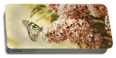 Sweet Lilacs Portable Battery Charger