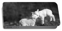 Sweet Little Lambs Portable Battery Charger