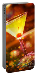 Sweet Martini  Portable Battery Charger by Erika Weber