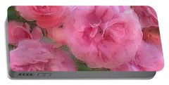 Sweet Pink Roses  Portable Battery Charger
