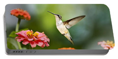 Portable Battery Charger featuring the photograph Sweet Promise Hummingbird by Christina Rollo