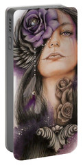 Sweet Sorrow Portable Battery Charger by Sheena Pike