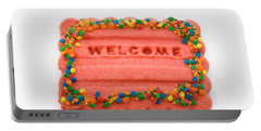 Sweet Welcome Mat Portable Battery Charger