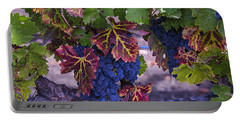 Sweet Wine Grapes Portable Battery Charger