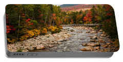 Swift River Painted With Autumns Paint Brush Portable Battery Charger