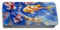 Swimming Koi Fish Portable Battery Charger