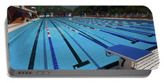Swimming Pool At Grand Hotel Polyana Portable Battery Charger