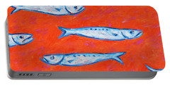Swimming Upstream Portable Battery Charger