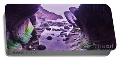 Portable Battery Charger featuring the photograph Swirl Rocks 2 by John Williams