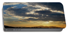 Portable Battery Charger featuring the photograph Swirl Sky Landscape by Matt Harang