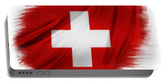 Swiss Flag Portable Battery Charger