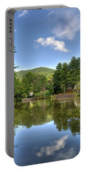 Swiss Mountain Lake Portable Battery Charger