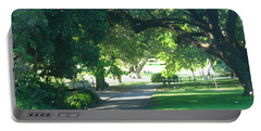 Portable Battery Charger featuring the photograph Sydney Botanical Gardens Walk by Leanne Seymour