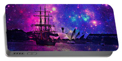 Sydney Harbour Through Time And Space Portable Battery Charger