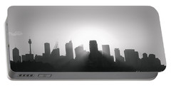 Sydney's Evening B/w Portable Battery Charger