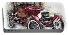 The 1926 Ford Model T Portable Battery Charger by Gary Bodnar
