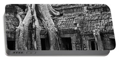 Ta Prohm Roots And Stone 01 Portable Battery Charger