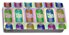 Tab Ode To Andy Warhol Repeat Horizontal Portable Battery Charger