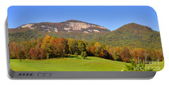 Table Rock In Autumn Portable Battery Charger by Lydia Holly