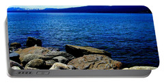 Portable Battery Charger featuring the photograph Tahoe Magic by Bobbee Rickard