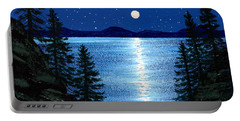 Tahoe Moonrise Portable Battery Charger