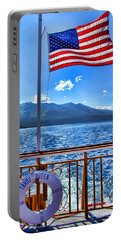 Tahoe Queen Lake Tahoe By Diana Sainz Portable Battery Charger