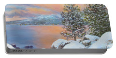 Tahoe Winter Colors Portable Battery Charger