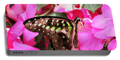 Tailed Jay Butterfly #4 Portable Battery Charger