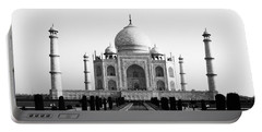 Taj Mahal Bw Portable Battery Charger