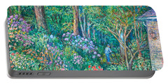 Portable Battery Charger featuring the painting Taking A Break by Kendall Kessler