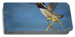 Portable Battery Charger featuring the photograph Taking Flight by Peggy Hughes