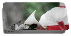 Baby Hummingbird Taking It Easy Portable Battery Charger