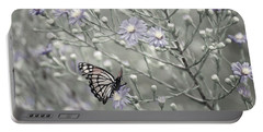 Taking Time To Smell The Flowers Portable Battery Charger